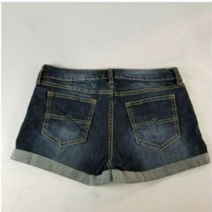 Arizona Jean Co Women's Denim Shorts Cuffed Sz 7